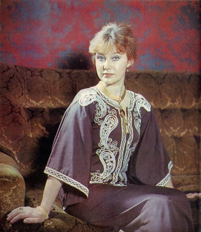 Fabulous actress Lyudmila Savelyeva
