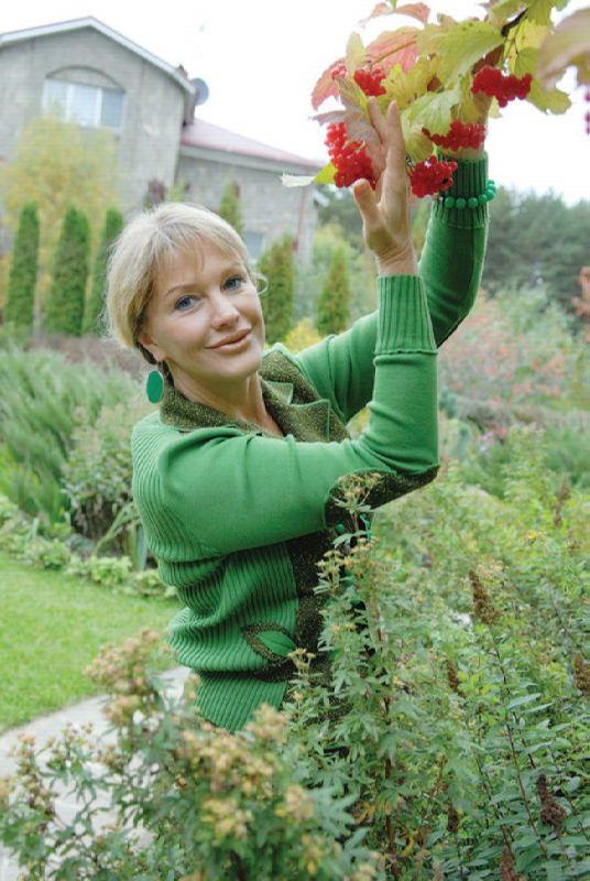 Famous actress Lena Proklova