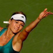 Fantastic tennis player Kirilenko Maria
