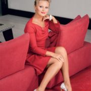 Fashionable TV presenter Borisova Dana