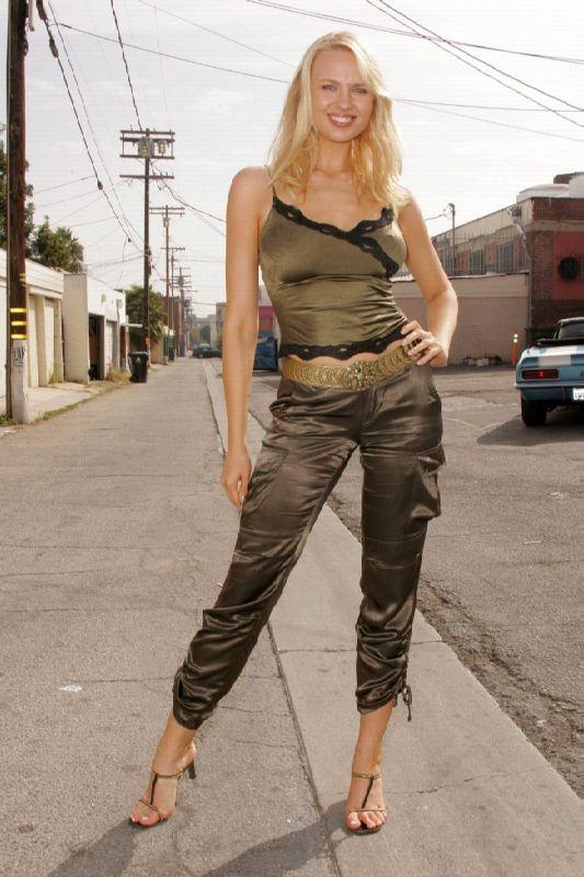 Fashionable actress and model Voronina Irina