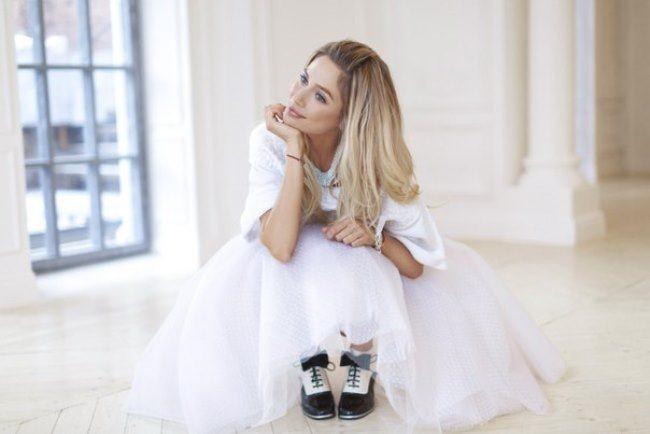 Glamorous actress Natasha Rudova