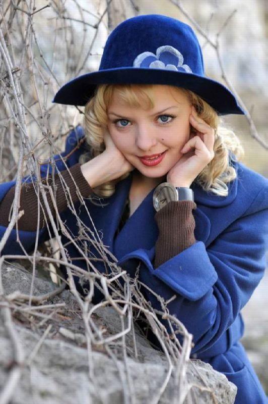 Graceful actress Orlova Marina