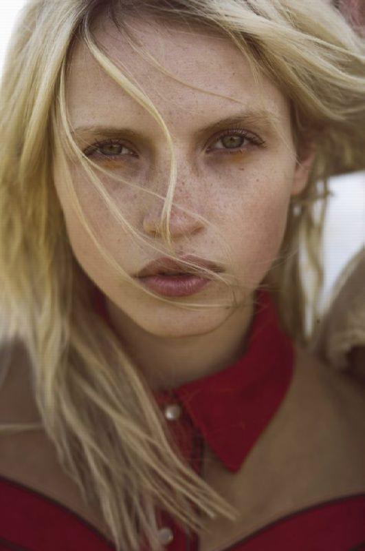Graceful model Anja Konstantinova