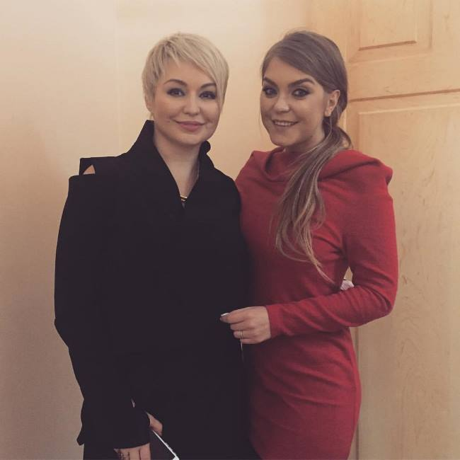 Katya Lel and Oksana Pochepa