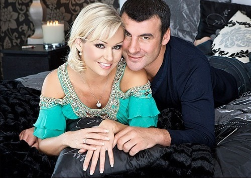 rihanoff and Joe Calzaghe