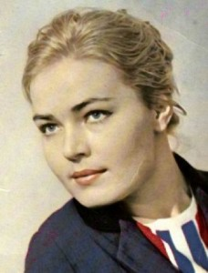 Attractive Lyudmila Chursina