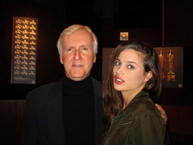Lovely model and actress Natalia Galkina