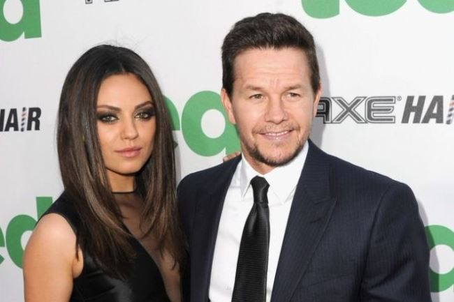 Mark Wahlberg and Kunis