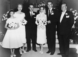 Natalie Wood Wagner wedding