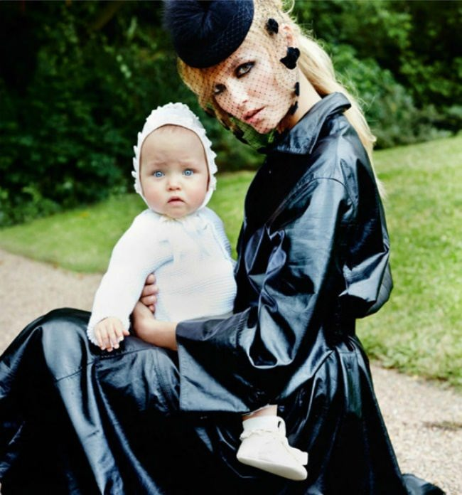 Natasha Poly and her daughter