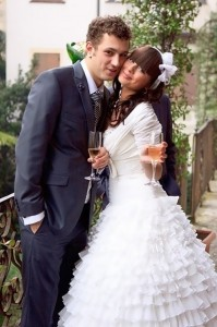 Nelly Ermolaeva wedding