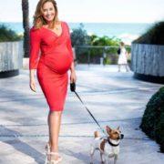 Pregnant Zhanna Friske