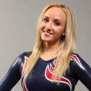 Pretty gymnast Anastasia Liukin