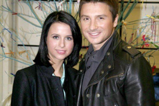 Sergey Lazarev and Miroslava Karpovich