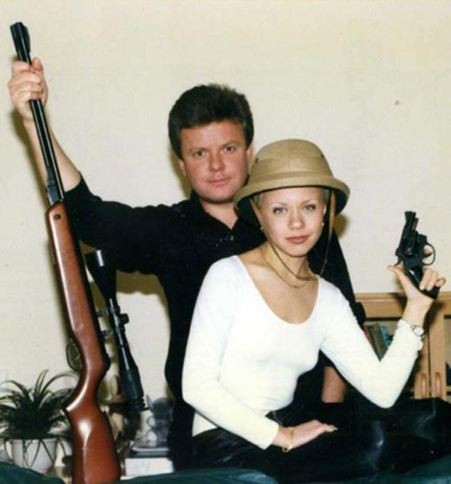 Sergey Suponev and Lena Perova