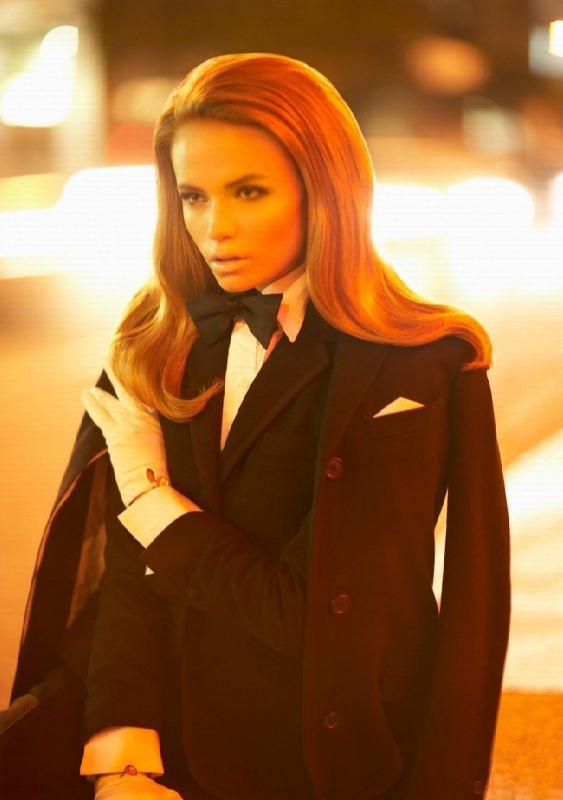 Stunning model Natalia Poly
