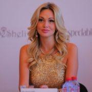 TV presenter Victoria Lopyreva