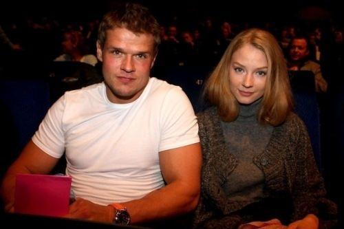 Vladimir Yaglych and Svetlana Khodchenkova