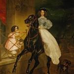 bryullov horsewoman