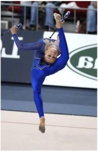 Alina Kabaeva Russian athlete