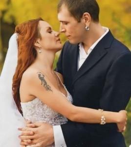 Marina and her ex-husband Alexei Lugovtsov
