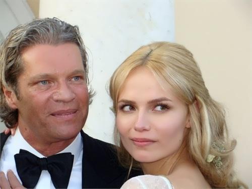 Natasha and her husband, Peter Bakker