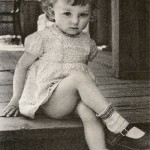 Vertinskaya in her childhood
