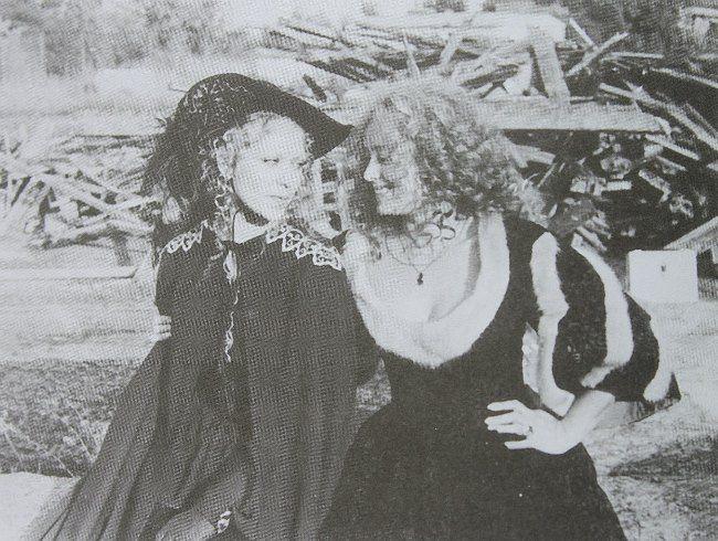 Actress Margarita Terekhova and her understudy