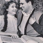 Actress Rufina Nifontova and her husband Gleb Nifontov