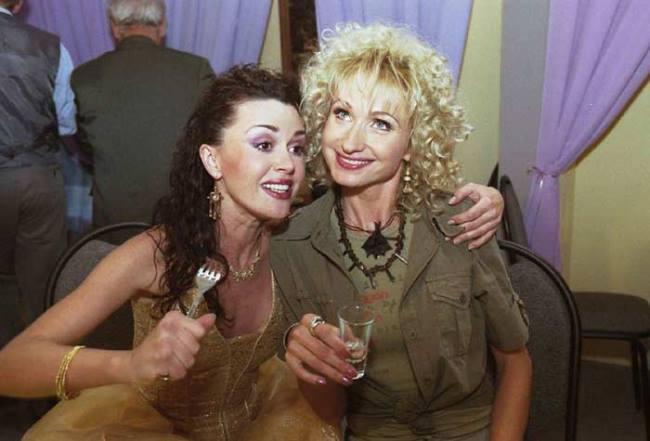 Actresses Olga Prokofieva and Anastasia Zavorotnyuk