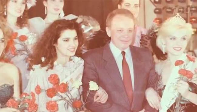 Alexander Maslyakov and Miss Kuban 88 Anna Netrebko
