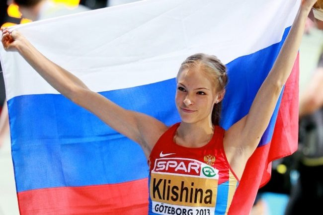 Amazing athlete Daria Klishina