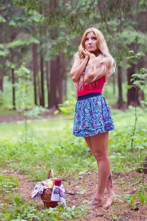 A. Yankova beautiful karate girl