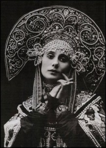 Pavlova in Russian Costume