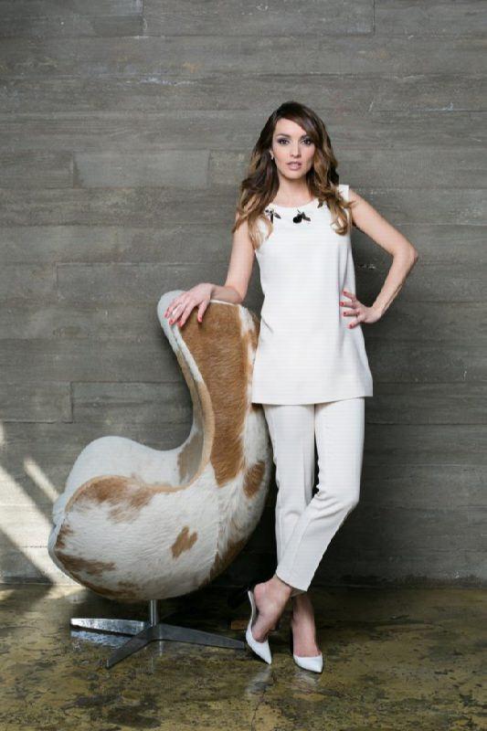 Attractive actress Yulia Zimina