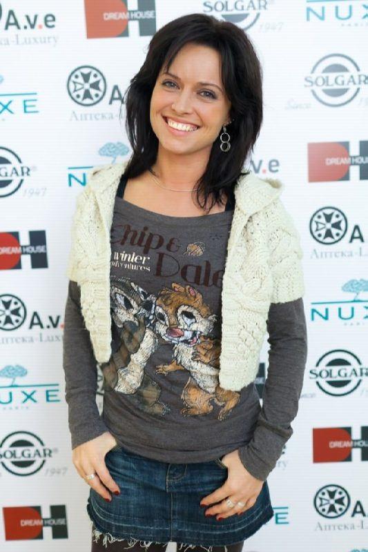 Awesome TV presenter Tatiana Gerasimova