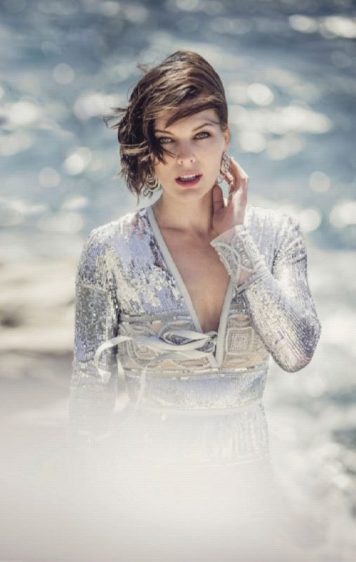 Awesome actress Jovovich Milla