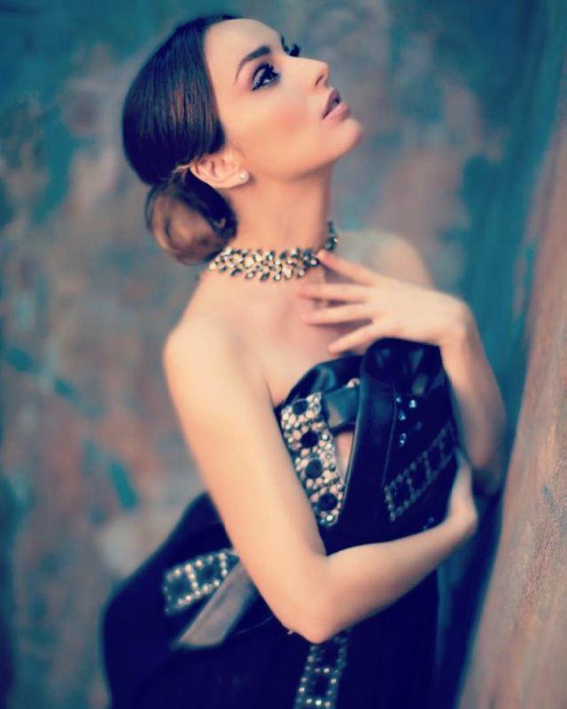 Beautiful actress Yulia Zimina