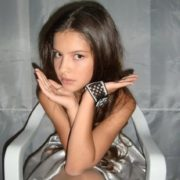 Beautiful singer Ekaterina Ryabova
