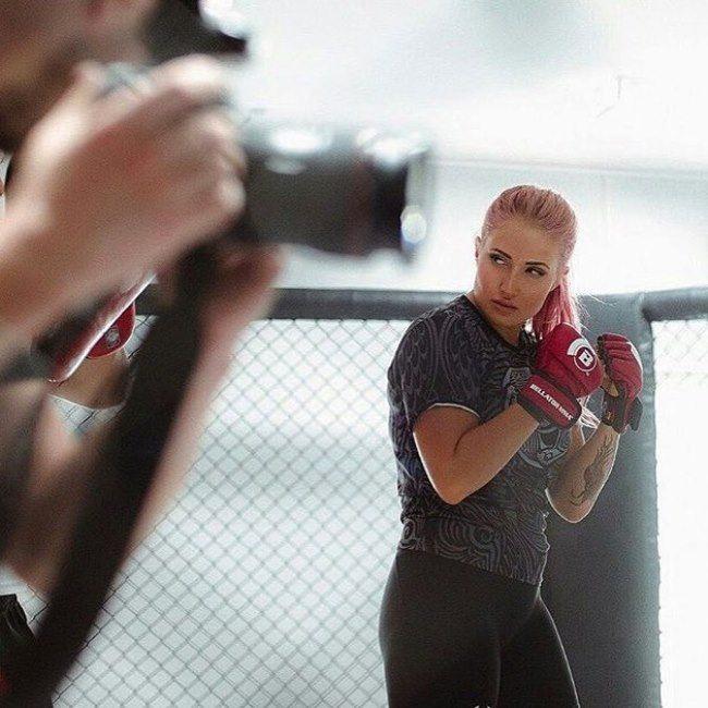Brilliant fighter Yankova Anastasia