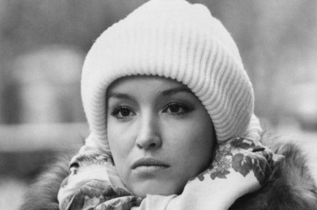 Charming actress Samokhina Anna