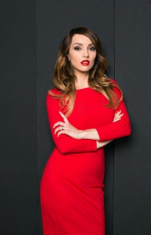 Charming actress Yulia Zimina