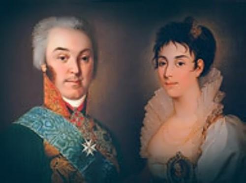 Count Sheremetyev and Zhemchugova
