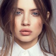 Cute model Ksenia Tchoumitcheva