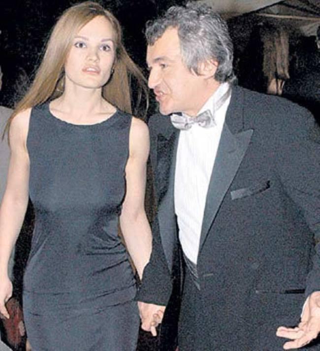 Dmitry Dibrov and Daria Charusha