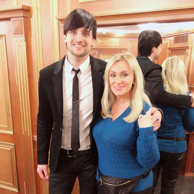 Dmitry Koldun and Natalia Gulkina