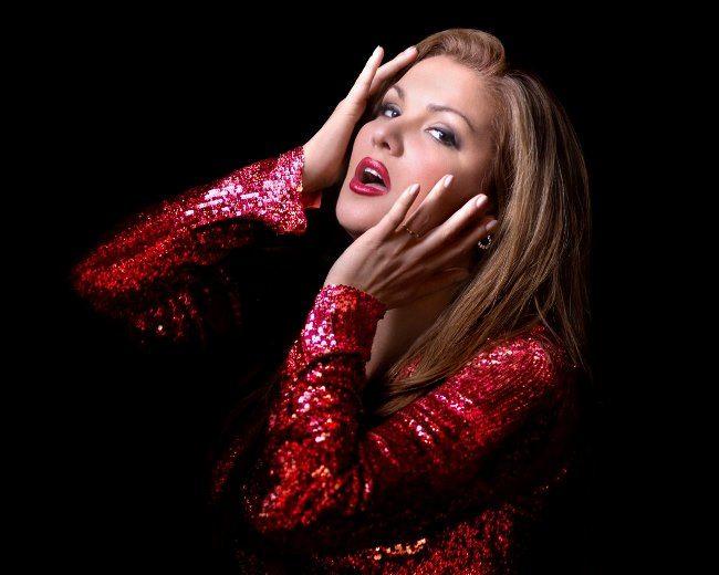 Fabulous opera singer Netrebko Anna