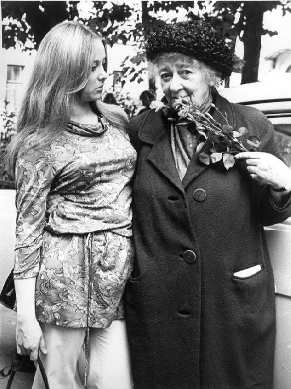 Faina Ranevskaya and Margarita Terekhova
