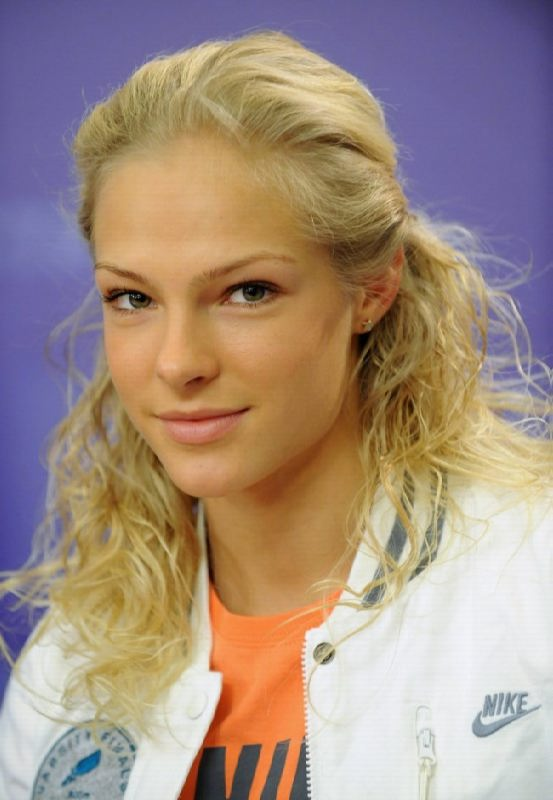 Fantastic athlete Daria Klishina
